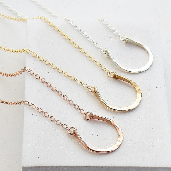 Horseshoe Layering Necklace