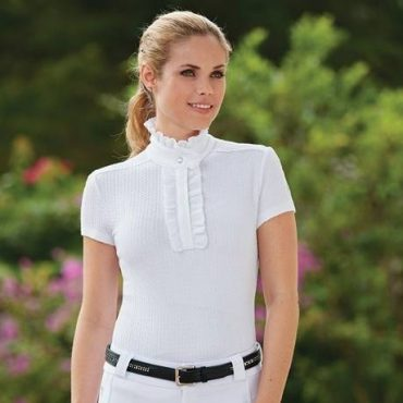 Equestrian Stable Style: Fits Ruffled Show Shirt