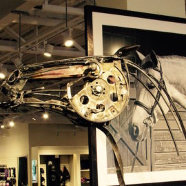 equestrian sculptures by Robert Spinazzola