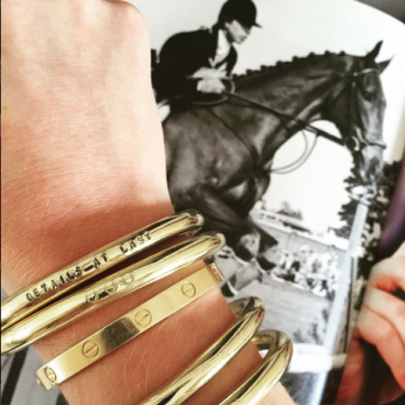 Equestrian Accessory Dillen Gold Bangle