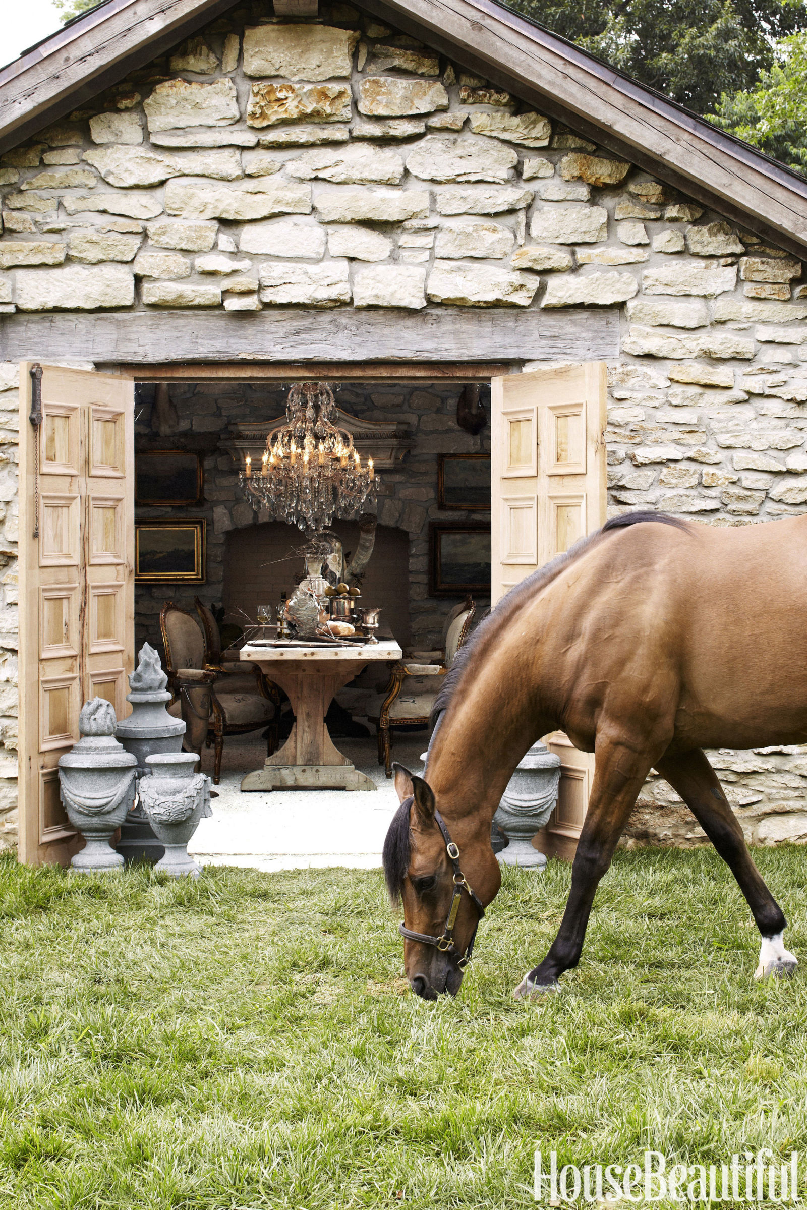 House Beautiful Equestrian Decor