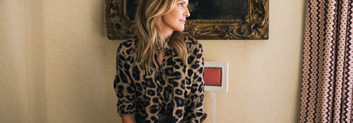 India Hicks Cheetah Shirt