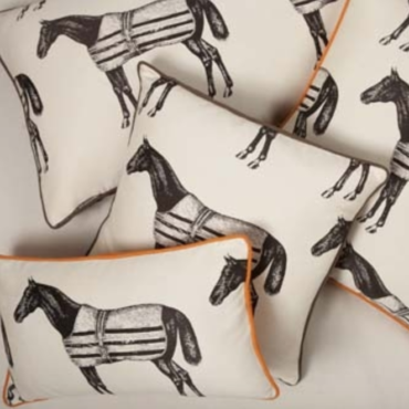 HOME DECOR: Thomas Paul Equestrian Pillow