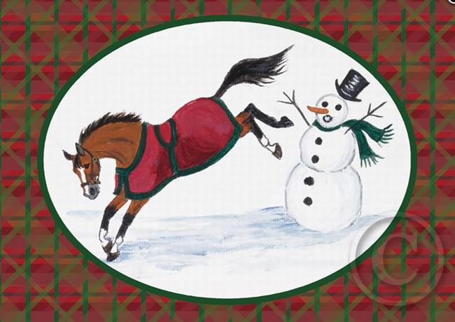 equestrian holiday cards