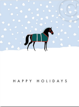 HOLIDAY: Equestrian Holiday Cards